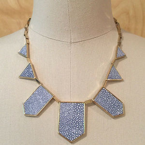 House of Harlow Blue Stingray station necklace